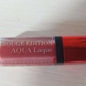 Жидкая помада для губ Bourjois rouge edition Aqua laque, 06 тон, оригинал