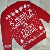 Новорічний светр на С-М