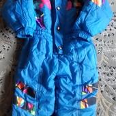 Детский комбинезон зимний или на холодную осень