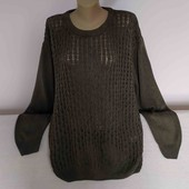 Класний довгий светр р.2XL.Заміри