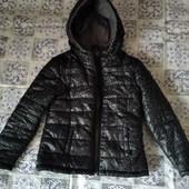 Деми куртка на 5-6 лет для девочки