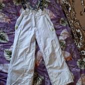 классные теплющие зимные штаны комбинезон