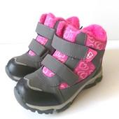 Ботиночки для девочки,деми,теплая зима.Легкие,удоные!размер 28,29,30,31,32,33,34,35