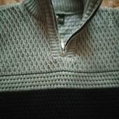 Теплый свитерок под шею свитер