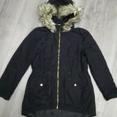 Фирменная теплая курточка осень-зима H&M! Германия! 158-164р. Состояние идеальное!!!