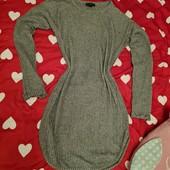 классный свитер-платье в хорошем состоянии Турция