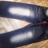 Красивые, фирменные джинсы для маленького модника