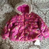 St.Bernard for Dunes куртка демисезонная осень весна девочке 1-1.5-2г 12-18-24м 80-86-92см новая