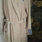 Банний халат, бежевий