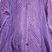 Фирменная курточка цвет слива размер 54-58 смотрите замеры