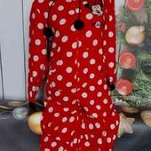 Вау! Бомбезный тёпленький мягусенький слип, кигуруми, пижама от Disney размер S/M