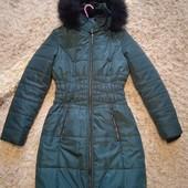 Отличное зимнее пальто от F&F,14(42)евро