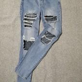 Собираем лоты!!! Фирменные джинсы на подростка или худенькую девушку, размер 34/4