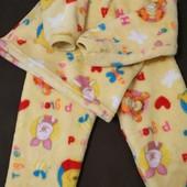 Пижама махровая тёплая мягкая