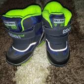 Зимние ботинки для мальчика+ тапочки в подарок)))