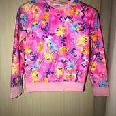 Тёплая яркая пижама на возраст 7-8 лет
