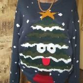 ТеплыйНовогодний свитерок