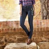 Плотные стильные темно-синие джинсы skinny fit Esmara by Cherokee Германия. Размер: eur 38
