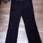 Черные плотные женские брюки TU L XL