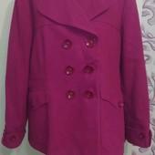 Шикарное кашемировое пальто большого размера