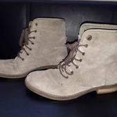 ботинки з натурального замшу. 25 см