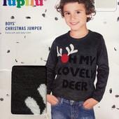 Отличный праздничный свитерок Lupilu Германия размер 98/104