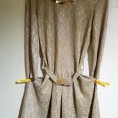 Новогоднее платье для девочки.Детское нарядное платье Nolvit.