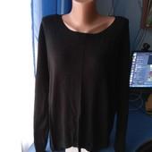 Женский свитерок с удлиненной спинкой, сзади на молнии, р.18/ XL