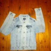 Джинсовий піджак стрейч