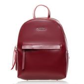 Стильный кожаный рюкзак-сумка Alex Rai