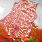 Одним лотом. Шикарная блузочка + юбка размер 46.
