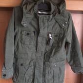 Куртка, парка, деми, размер 5-6 лет 116 см, TU. состояние отличное