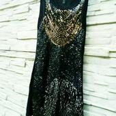 ❤️☀️❤️Красивое, эффектное платье в пайетках. Рр м,с. Состояние идеальное.