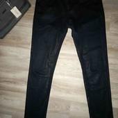 Женские котоновые брюки с принтом XL XXL