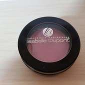 Тени для век Isabelle Dupont Soft velvet pearly, светло - розовый оттенок.