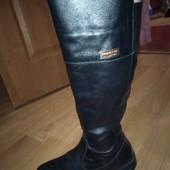 Зимові- шкіряні чоботи