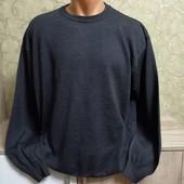 Собираем лоты!! Мужской свитер, размер 54.Вирджинская шерсть 50 %, 50%полиаерил