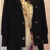 Пальто 44/48, в составе ткани шерсть/альпака/мохер
