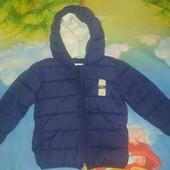 Теплая фирменная курточка Kanz 92р.