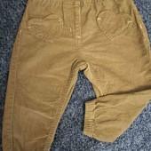 штаны вельветовые Lupilu