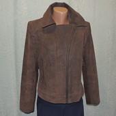 Кожаная натуральная куртка косуха Gallery размер S