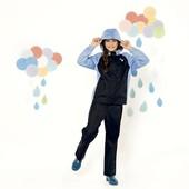 L12..Детский костюм-дождевик crivit на девочку р. 122/128 6-8лет