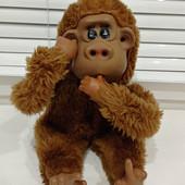 """Милая обезьянка """"Ничего не вижу, ничего не слышу, ничего не скажу""""- 30 см"""