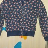 Демисезонная куртка на девочку 2-3 года.
