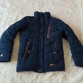 Зимняя курточка подросток 146/152 с дефектами
