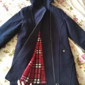 Пальто на девочку рост 140