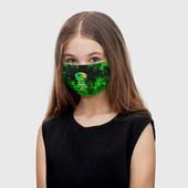 Новинка !Всеми любимые герои!Многоразовые детские маски Питта!!!