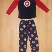 Без дефектов!!Отличная пижама меховушка на 10-11 л и р 140-146 см!