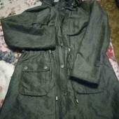 Зручна і практична жіноча куртка на флісі - 12 розміру