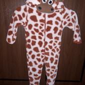 """Плюшевий кігурумі"""" жирафка""""мна 1-1.5 років"""